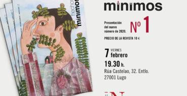 El Viernes, 7 de Febrero, presentamos Hechos Mínimos, en Lugo
